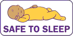 dormir bebe en postura boca arriba para evitar la muerte subita en bebes