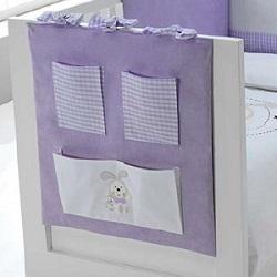 Muralera de cuna para la habitación del bebé.