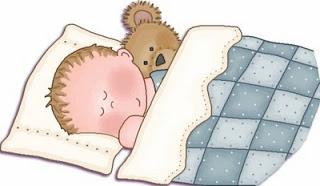 niño durmiendo con almohada