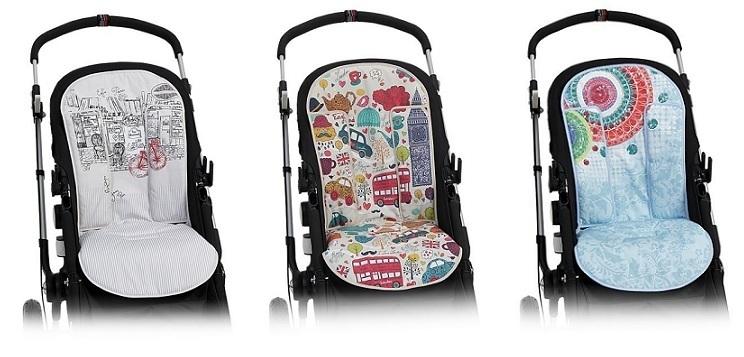 Colección de colchonetas para sillas de paseo