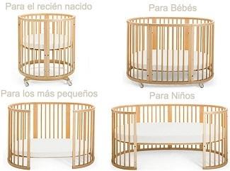 Cunas Para Bebes Baratas Que Encontraras En El Mercado - Cuna-para-gemelos