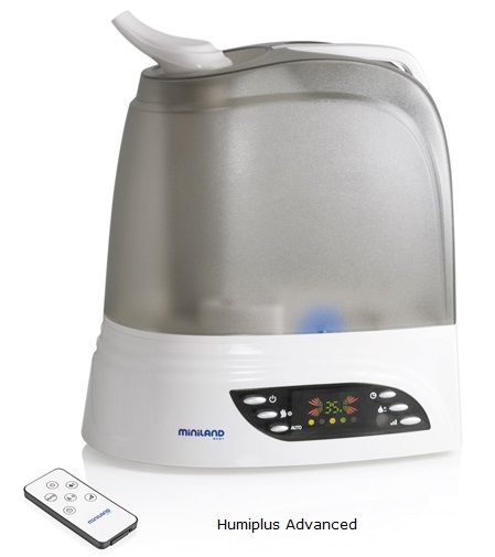 Humidificador ionizador para la habitacion del bebe