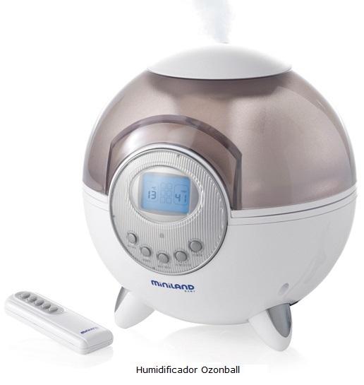 Humidificador ozonizador para purificar el ambiente del bebe