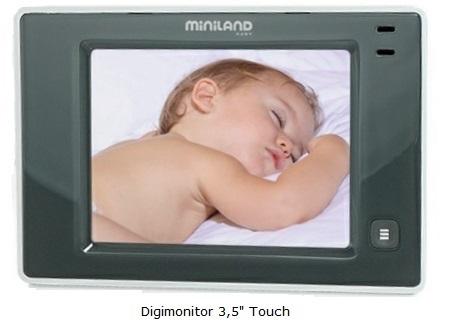 camara de vigilancia de bebe Digimonitor touch