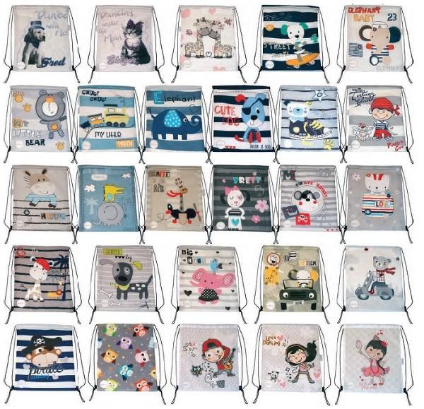 mochilas infantiles a juego con el saco del carrito
