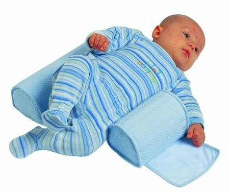 Opiniones sobre el uso del cojin antivuelco en el bebé