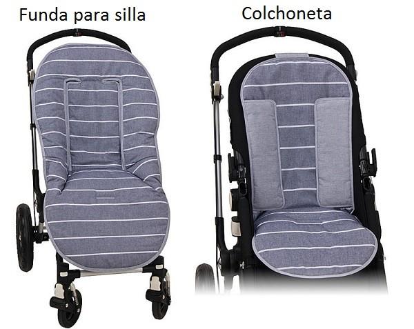 diferencia entre funda y colchoneta para el carrito de pasear