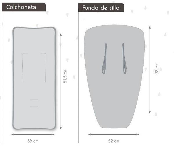 diferencias entre colchonetas y fundas para sillas de paseo