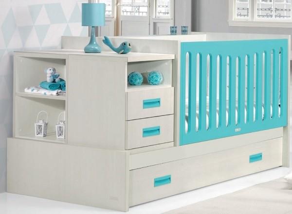Opiniones sobre las cunas convertibles en cama para bebes for Mueble que se convierte en mesa
