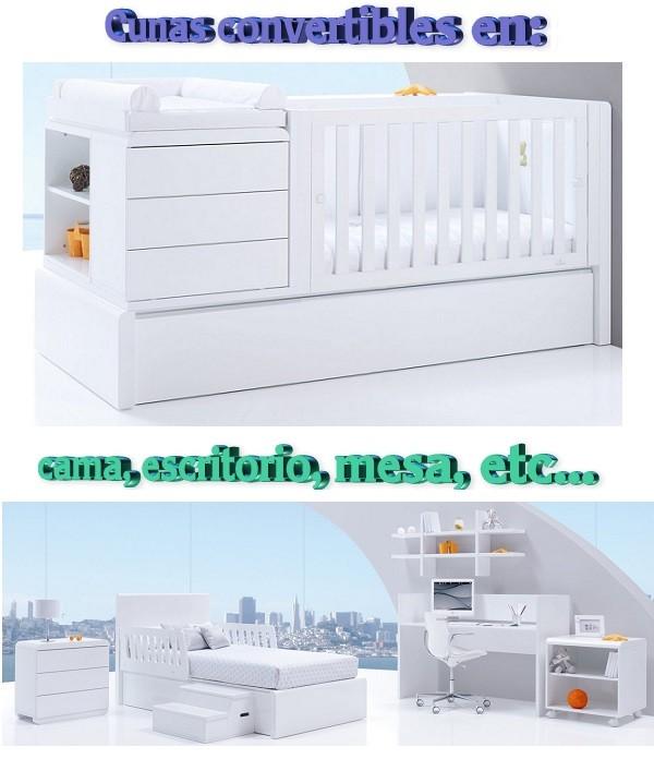 cunas convertibles en cama para bebes opiniones precios medidas marcas