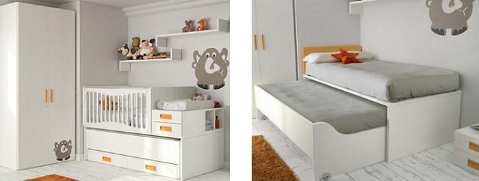 Opiniones sobre las cunas convertibles en cama para bebes - Habitacion convertible bebe ...