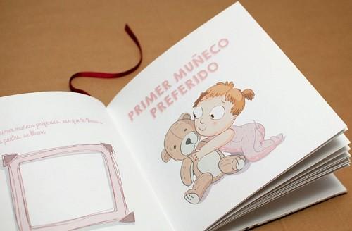 libro album como regalo original para un bebe
