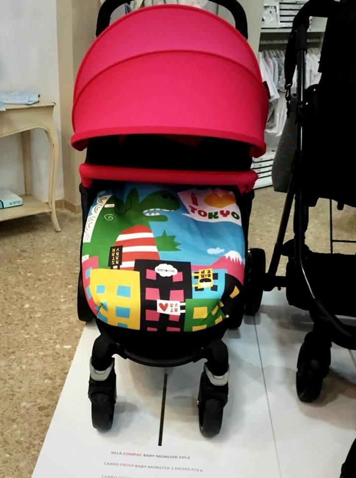 saco para carrito silla del bebe Baby Star temporada 2017