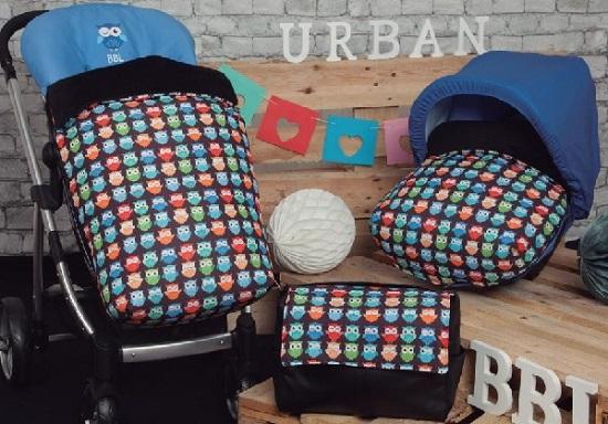 saco para sillas y grupo 0 babyline urban