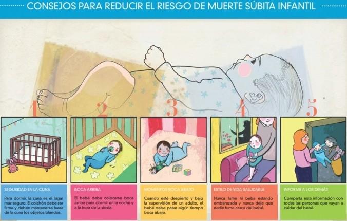 consejos para reducir sindrome muerte subita del lactante