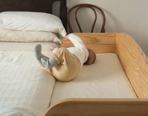 igualar altura colchon cuna y cama madre