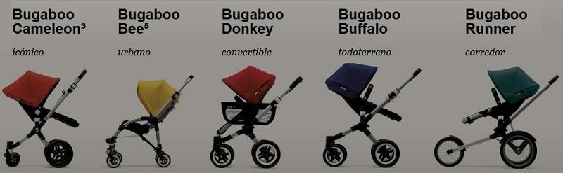 modelos de carrito bugaboo
