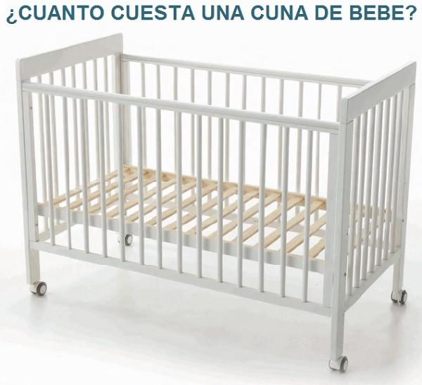 cuanto cuesta una cuna de bebe