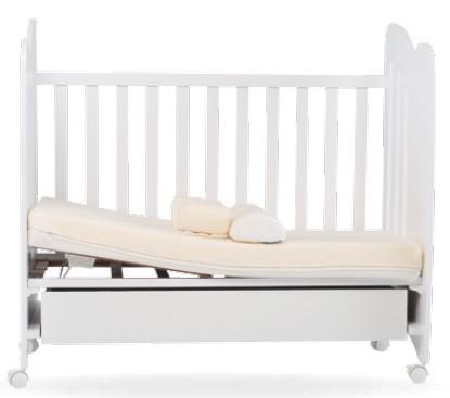 cuna con cajon y somier reclinable
