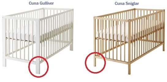 diferencias entre cuna gulliver y sniglar