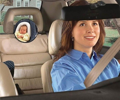espejo para ver bebe en silla coche contramarcha