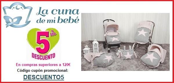 Cupon descuento comprar en La Cuna de mi Bebe