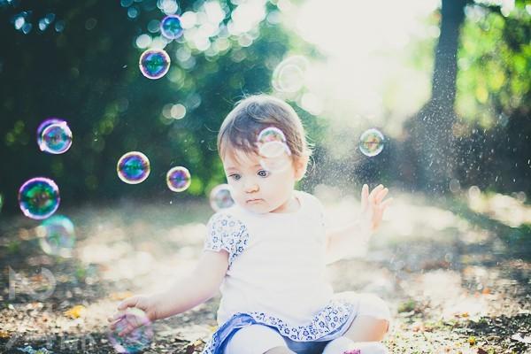 fotografia exterior original con bebes