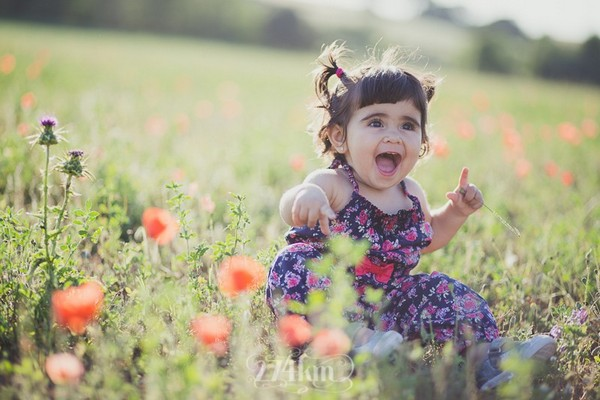 sesion de fotos en exterior con bebes