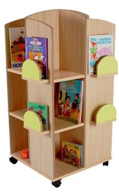 organizador de libros para cuarto infantil