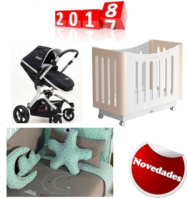 Novedades para el 2018 en carritos de bebé y cunas