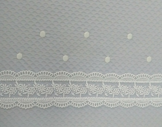 detalle tejido pique gris