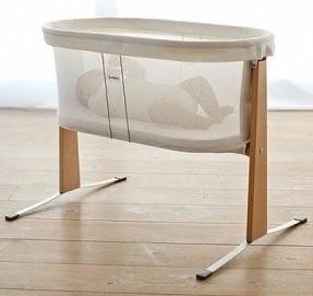 moises de rejilla para bebe con cesto transparente