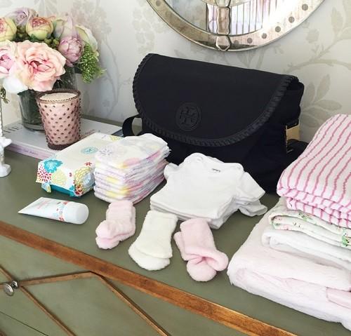 bolsa con ropa primera puesta bebe para hospital