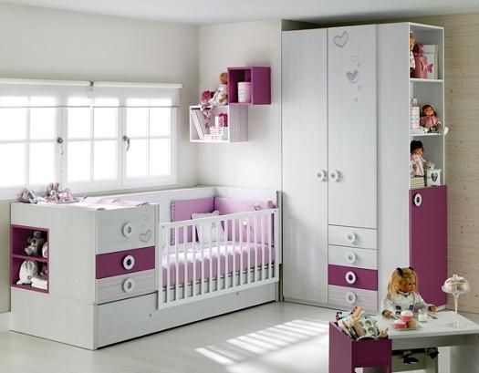 mobiliario infantil de cunas ros