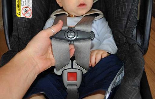 arnes de cinco puntos para silla coche bebe