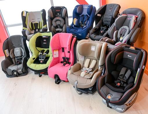 como elegir sillas de auto para bebes