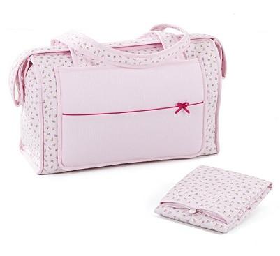 bolso maternal con cambiador plegable