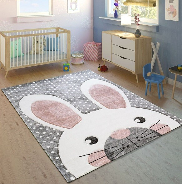 alfombra decorativa dormitorio bebe