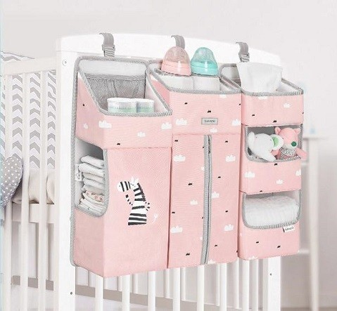 bolsillero decorativo para cuna del bebe