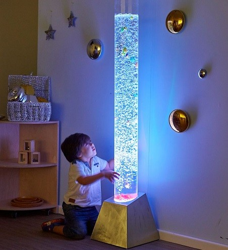 lamparas sensoriales para dormitorio del bebe