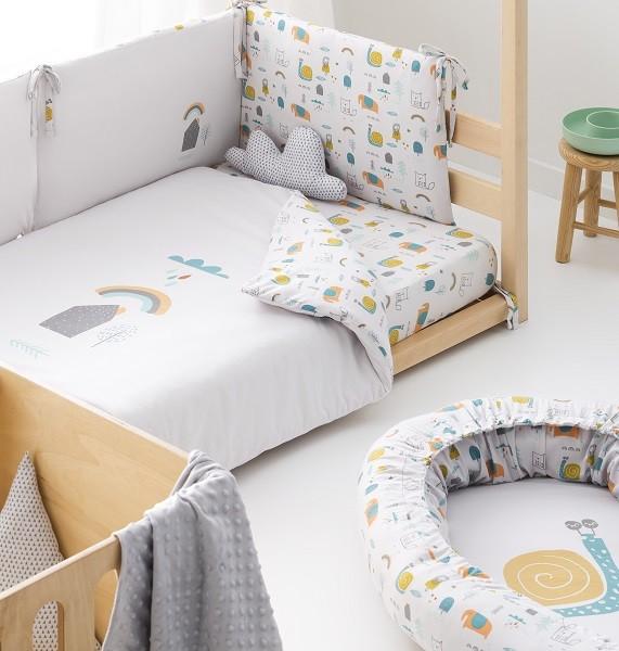 cojin nido bebe para dormitorio