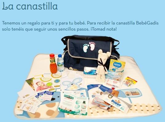 bebegadis canastilla gratis para bebes y embarazadas