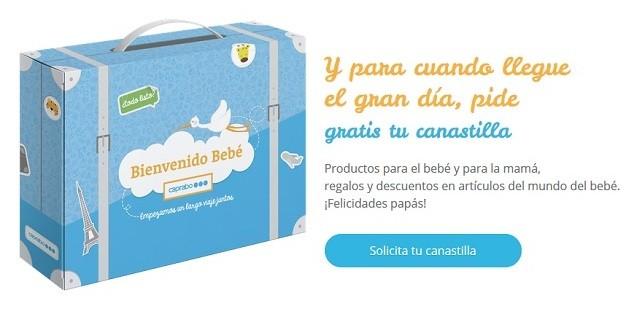 canastilla gratis Caprabo Bienvenida matrona