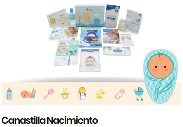 Lets familiy canastilla gratuita con productos para bebe