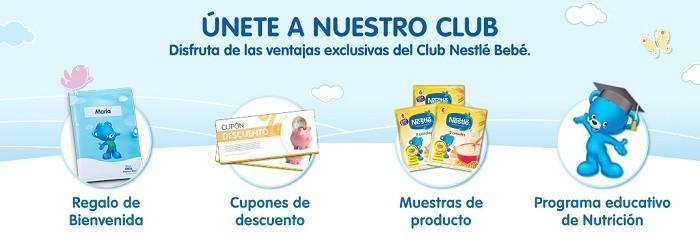 club nestle productos gratuitos para bebes