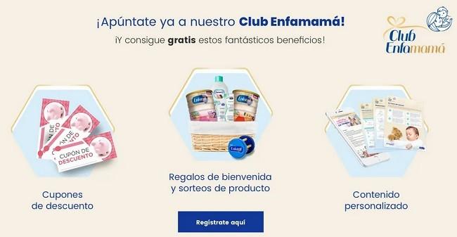 enfamil club enfamama gratis para bebe y embarazada