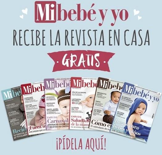 revista gratis mibebe y yo
