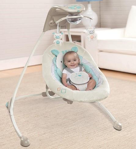 hamacas para tranquilizar un bebé