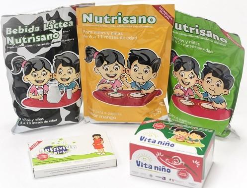 tipos de complementos alimenticios para niños