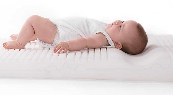 colchon anti plagiocefalico del bebe